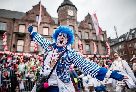 Karnevalist in Düsseldorf (Archivbild)