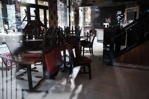 Viele Restaurants in den USA haben die Coronakrise nicht überlebt.