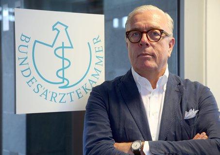 Ärztepräsident Klaus Reinhardt
