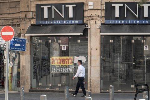 Geschlossene Geschäfte in Jerusalem.