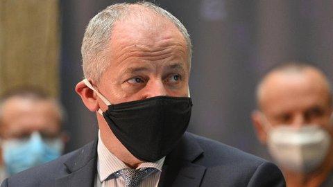 Roman Prymula, Gesundheitsminister vonTschechien.