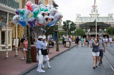 Walt Disney World in Orlando in Florida.