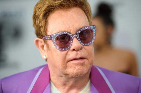Popstar Elton John.