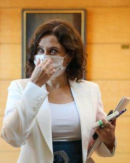 Isabel Diaz Ayuso, Präsidentin der Regionalregierung von Madrid, schaltet die Justiz ein.