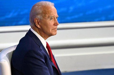 Mal ohne Maske im Wahlkampf: Joe Biden