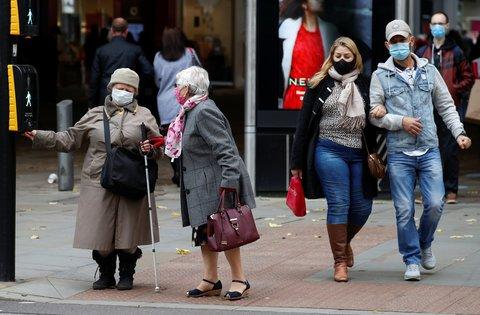 Der britische Großraum Manchester ist besonders von der Pandemie betroffen.