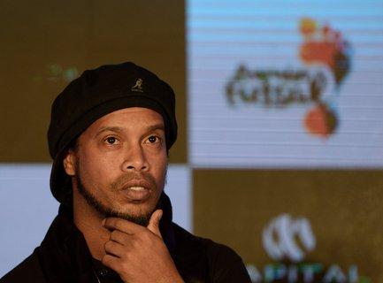 Hat sich mit dem Coronavirus infiziert: Ex-Fußballer Ronaldinho (Archivbild)