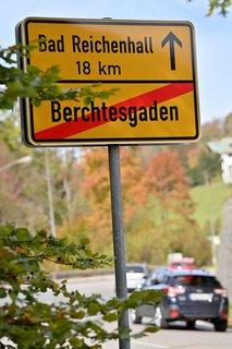 Besonders deutlich zeigt sich der Effekt aktuell im Berchtesgadener Land.