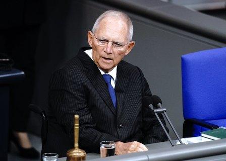 Bundestagspräsident Wolfgang Schäuble