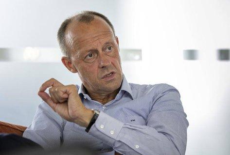 Friedrich Merz bewirbt sich um den CDU-Vorsitz.