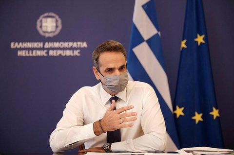Kyriakos Mitsotakis, Premierminister von Griechenland,  verkündete einen dreiwöchigen Lockdown für das ganze Land, beginnend am 7. November.
