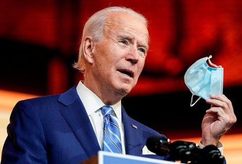 Schwört die Amerikaner auf einen langen Kampf gegen das Coronavirus ein: Joe Biden.