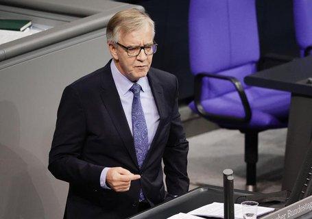 Fraktionsvorsitzender der Links-Partei: Dietmar Bartsch.