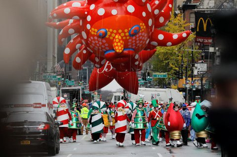 Thanksgiving-Parade in New York