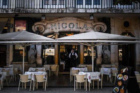 Ein Restaurant in Lissabon.