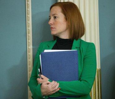 Die prominente Rolle der Regierungssprecherin geht an Jen Psaki.