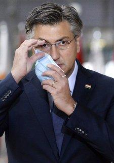 Hat sich mit dem Coronavirus infiziert: Kroatiens Ministerpräsident Plenkovic.