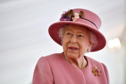 Da bleibt sie eben Zuhause: Die britische Königin Elizabeth II.