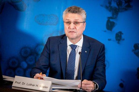 RKI-Chef Lother Wieler appelliert eindringlich an die Bürger.