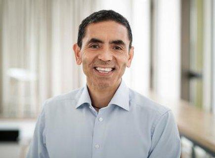 Uğur Şahin, Vorstandsvorsitzender des deutschen Impfstoffentwicklers Biontech.