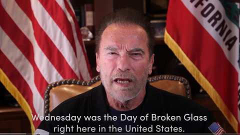 Arnold Schwarzenegger in seinem Video