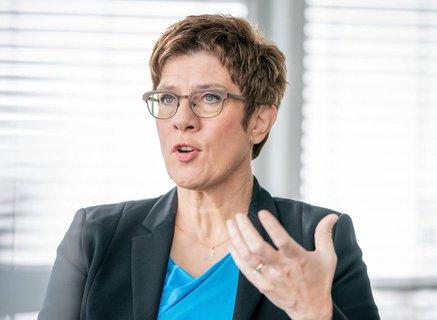 Noch CDU-Chefin kramp-Karrenbauer.
