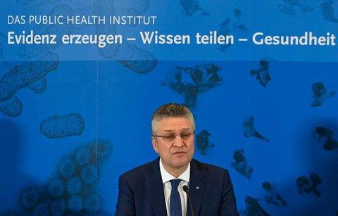 Lothar Wieler bei der Pressekonferenz in Berlin.