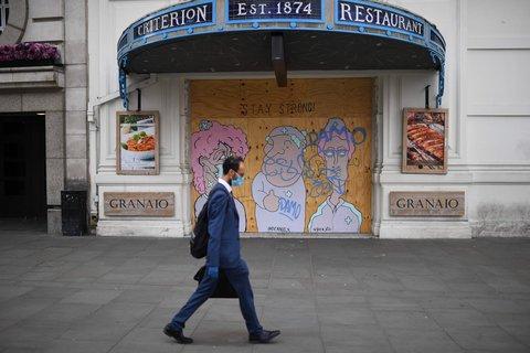 London im Lockdown.