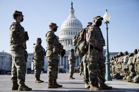 US-Soldaten am Kapitol in Washington