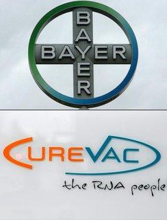 Bayer und das Tübinger Biotech-Unternehmen Curevac haben einen Kooperations- und Servicevertrag geschlossen.