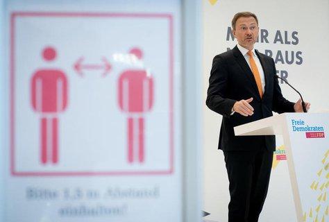 Fraktionsvorsitzender und Parteichef: Christian Lindner.