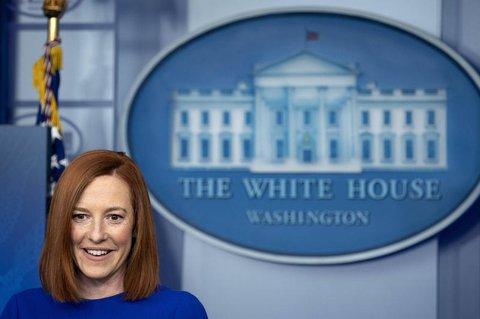 Bei ihrer ersten Pressekonferenz nach Bidens Amtsantritt sprach die 42-jährige Jen Psaki von derNotwendigkeit,