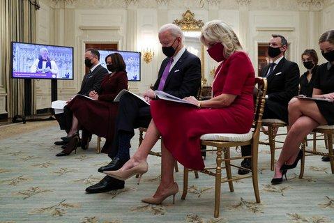 Maske und Abstand: Neue Regeln im Weißen Haus