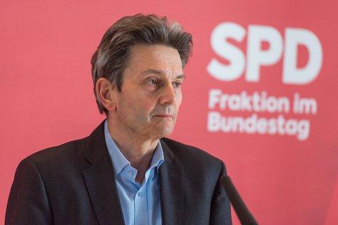 Rolf Mützenich, SPD-Fraktionschef im Bundestag