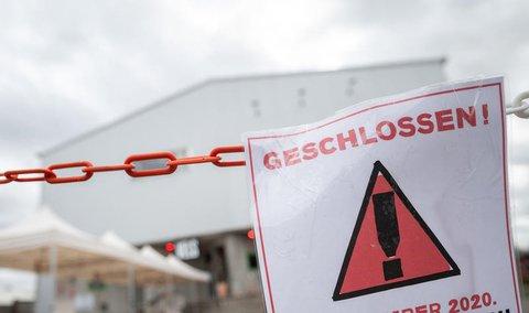 Viele Bereiche in Deutschland sind dicht.