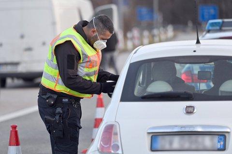 Grenzkontrollen an den Grenzen zu Österreich und Tschechien sind derzeit die Regel.