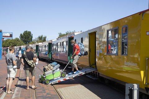 Auf Borkum sollen demnächst wieder Touristen übernachten dürfen.