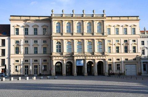 Das Museum Barberini in der Innenstadt von Potsdam auf dem Alten Markt.