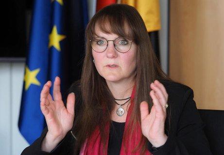 Katrin Lange (SPD), Brandenburger Ministerin der Finanzen und für Europa.