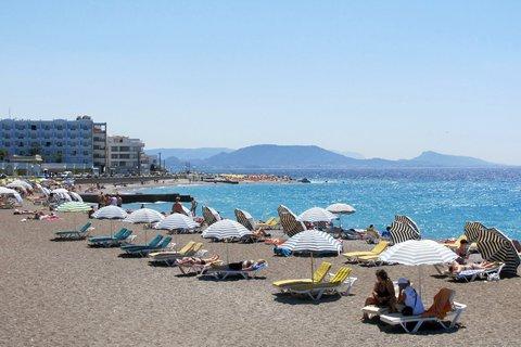 Sonnenbaden auf Rhodos: Griechenland dürfte im Sommer mit das gefragteste Reiseziel im Ausland sein.