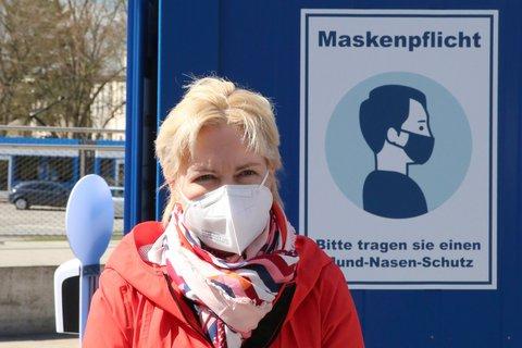 Die Ministerpräsidentin des Landes MV Manuela Schwesig