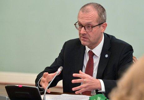 Hans Kluge, Europa-Direktor der Weltgesundheitsorganisation (WHO)