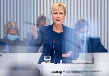 Mecklenburg-Vorpommerns Ministerpräsidentin Manuela Schwesig (SPD)