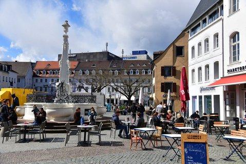 Im Saarland hat sogar die Gastronomie wieder geöffnet.