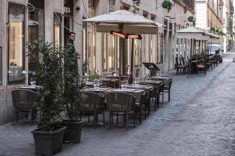 Bald könnte die Außengastronomie in Italien wieder öffnen.