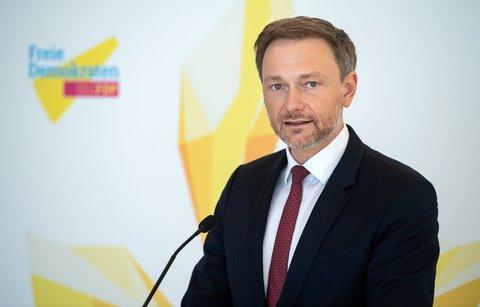 Christian Lindner,Vorsitzender der FDP-Bundestagsfraktion