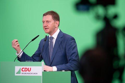 Michael Kretschmer, Ministerpräsident Sachsen