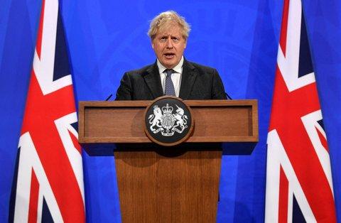 Boris Johnson, Premierministerdes Vereinigten Königreichs