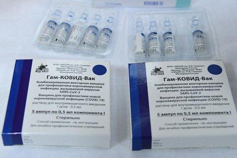 In Europa ist der russische Impfstoff noch nicht zugelassen.