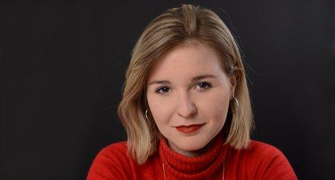 Die feministische Autorin Franka Frei.